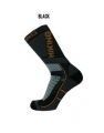 Spring Revolution Trekking-Socken 926 in schwarz-grau-orange