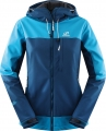 Hannah Softshell-Jacke Frannie in hell-/dunkelblau (blue jewel/moroc blue)