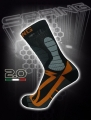 Spring Revolution Trekking-Socken 927 in grau/orange